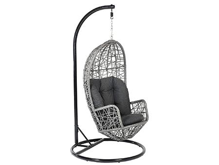 silla colgante diseño moderno