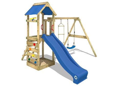 parque infantil con torre para jardin