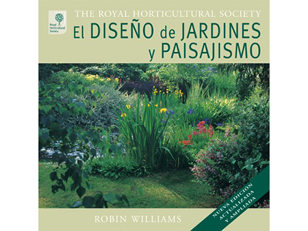 libro de paisajismo y diseño de jardin