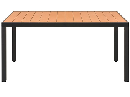 mesa madera exterior