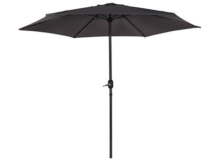 parasol para jardin negro