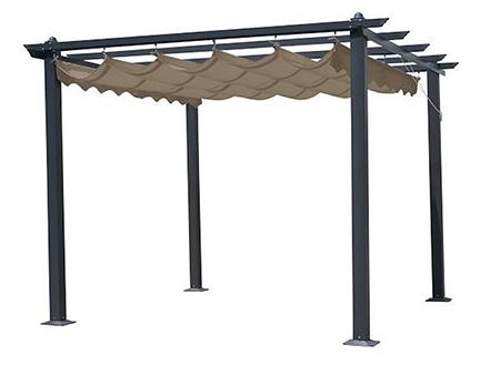 pergola metal para exterior