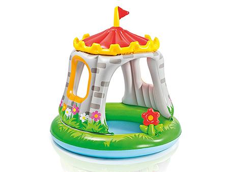 piscina hinchable con castillo