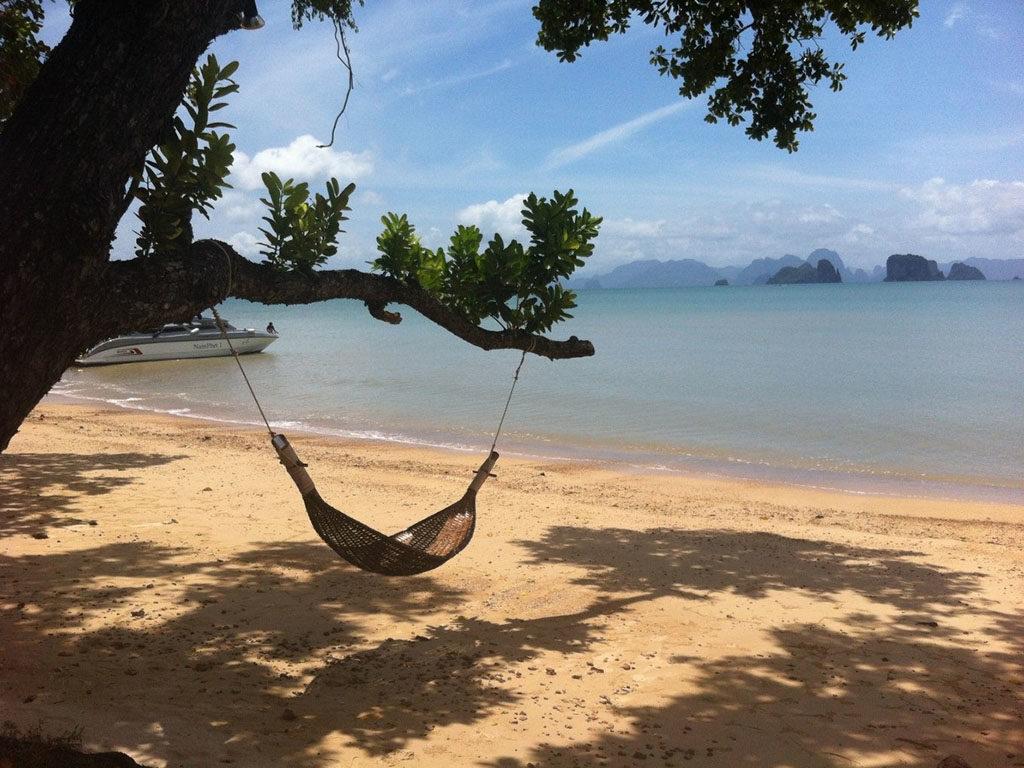 vacaciones felices y relajadas